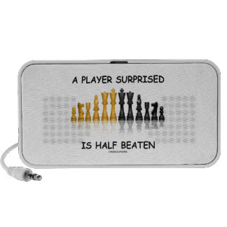 A Player Surprised Is Half Beaten Chess Attitude Mp3 Speakers