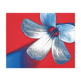 A Playful Edit of a Small Flower Gallery Wrap Canvas