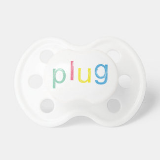 A Plug for Baby Baby Pacifiers