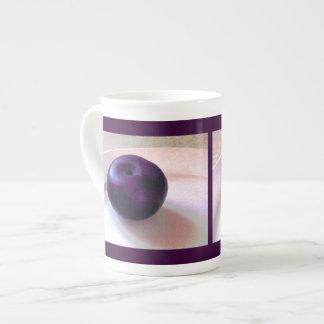A Plum Tea Cup