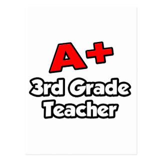 A Plus 3rd Grade Teacher Post Cards