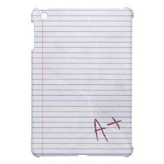 A Plus Student Notebook Pad iPad Mini Cover