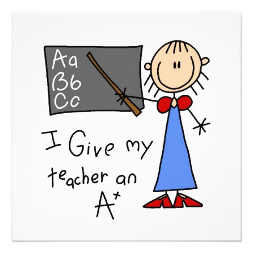 A Plus Teacher Invitation
