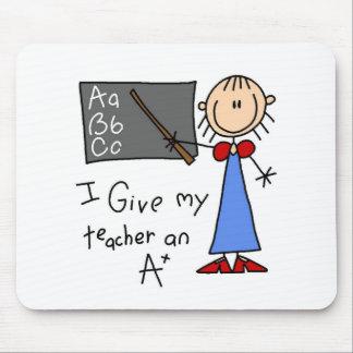A Plus Teacher Mouse Pad