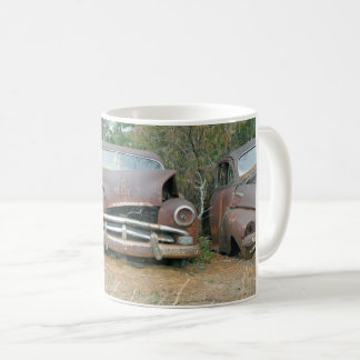 A Plymouth Rusted Remains Coffee Mug