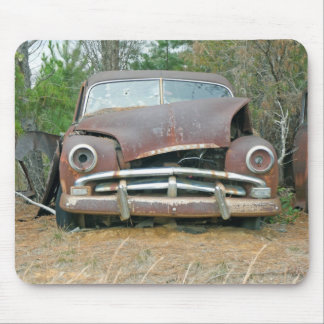 A Plymouth Rusted Remains Mouse Mat