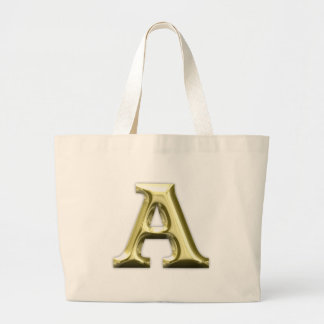 A.png Jumbo Tote Bag