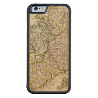 A pocket companion of Ireland Carved® Maple iPhone 6 Bumper Case