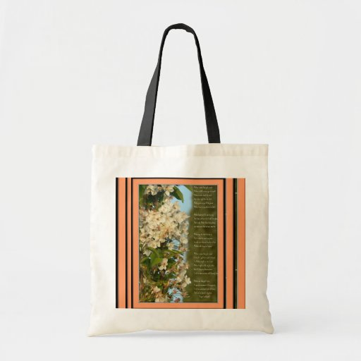 A Poem for Mom Canvas Bag