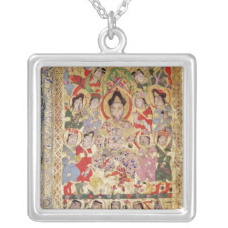 A Poet Singer, Musicians and Singers Silver Plated Necklace