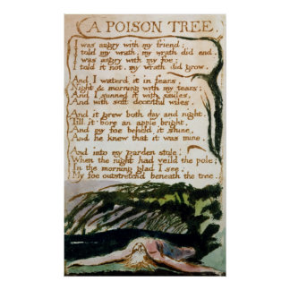 A Poison Tree from Songs of Experience Print