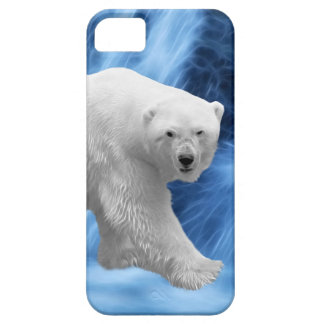 A polar Bear at the frozen waterfall Barely There iPhone 5 Case