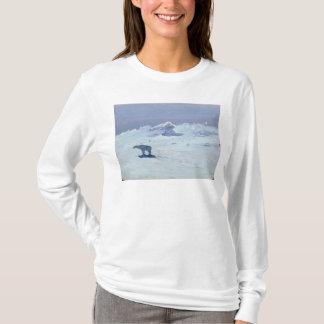 A Polar Bear Hunting in Moonlit Night, 1899 T-Shirt
