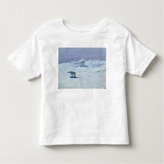 A Polar Bear Hunting in Moonlit Night, 1899 Toddler T-Shirt