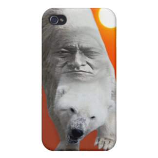A polar bears sacredness and plight covers for iPhone 4