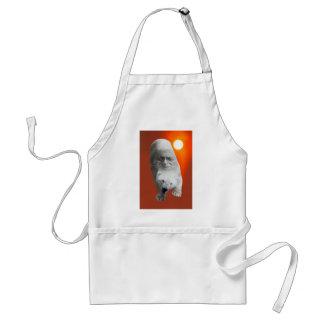 A polar bears sacredness and plight standard apron