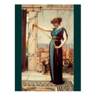 A Pompeian Lady - Godward Post Cards