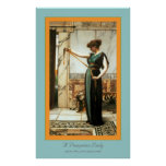 A Pompeian Lady Poster