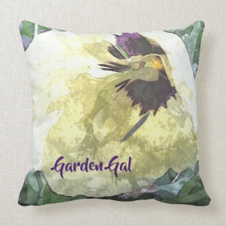 A Pop of Pansy Garden Gal Cushion