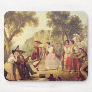 A Popular Dance Mouse Pad