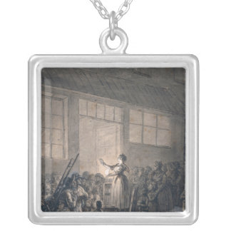 A Popular Singer Silver Plated Necklace