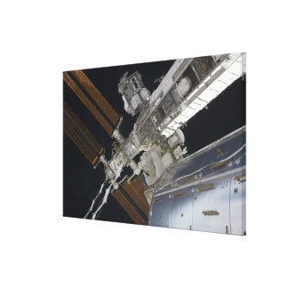 A portion of the International Space Station 3 Canvas Print