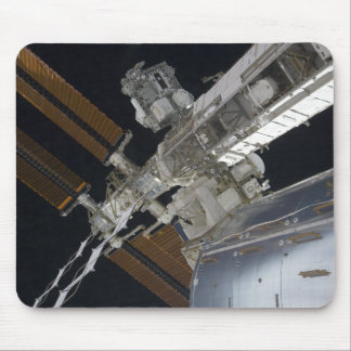 A portion of the International Space Station 3 Mouse Mat