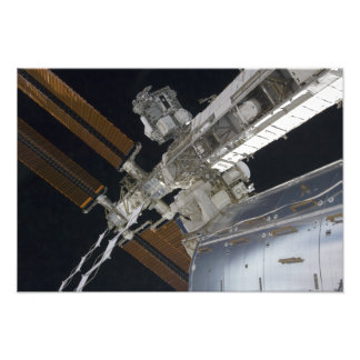 A portion of the International Space Station 3 Photo Print