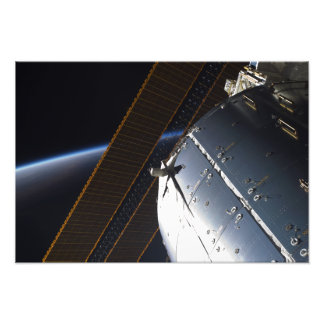 A portion of the International Space Station Photo Print