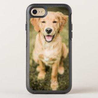 A Portrait Of A Golden Retriever Puppy OtterBox Symmetry iPhone 8/7 Case