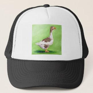 A Portrait of a Goose Trucker Hat