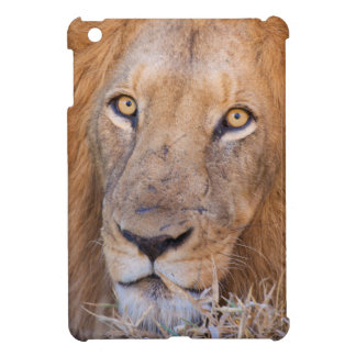 A portrait of a Lion iPad Mini Case