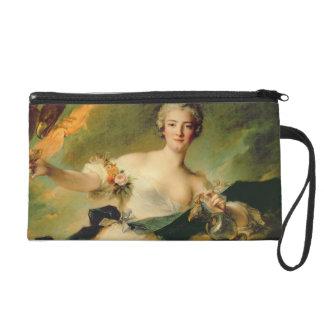 A Portrait of Anne Josephe Bonnnier de la Mossau ( Wristlet Clutch