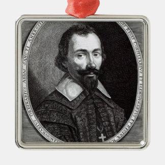 A portrait of Claude Maugis, advisor to Marie Christmas Ornament
