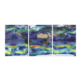 A Portrait of Global Winds Poster Canvas Prints