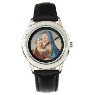 A Portrait of Mary and Baby Jesus Watch
