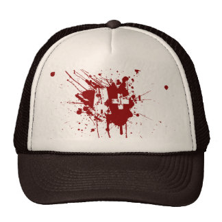 A positive Blood Type for Vampires & Zombies Cap
