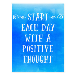 A Positive Thought Postcard
