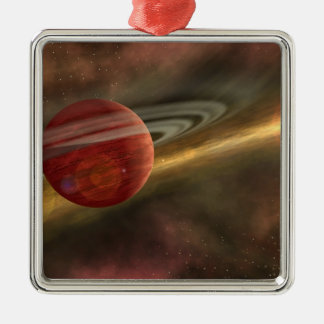 A possible newfound planet christmas ornament