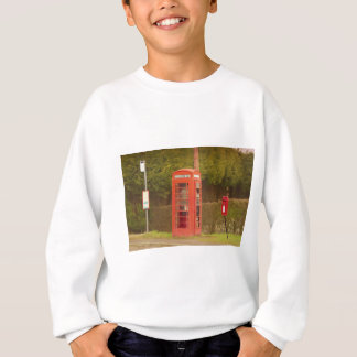 A Post Box, A Telephone Box and a Bus Stop Sweatshirt