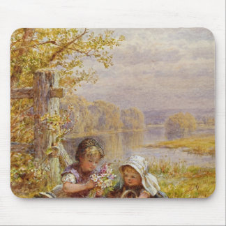 A Posy for Mother, 1867 Mouse Pad