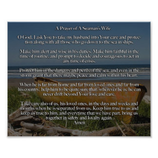 A Prayer of A Seaman's Wife Art Photo