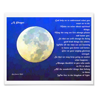 A Prayer Poem Art Photo