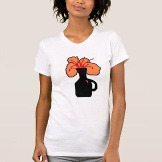 a pretty orange flower T-Shirt