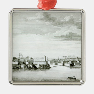 A Prospect of the Moro Castle and City of Christmas Ornament