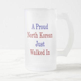 A Proud North Korean Just Walked In Mugs