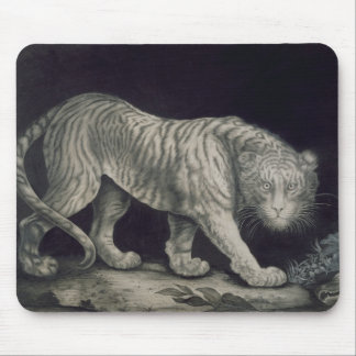 A Prowling Tiger (pencil on paper) Mouse Mat