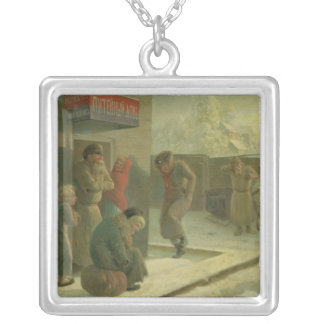 A Pub Silver Plated Necklace