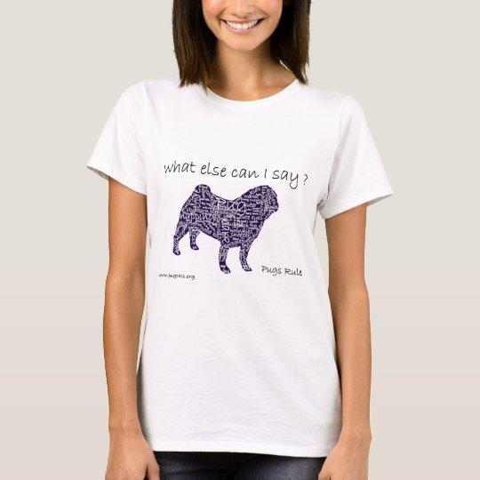 a pug t shirt