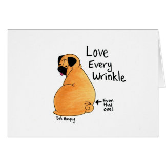A Pug Wrinkle in Time Cards